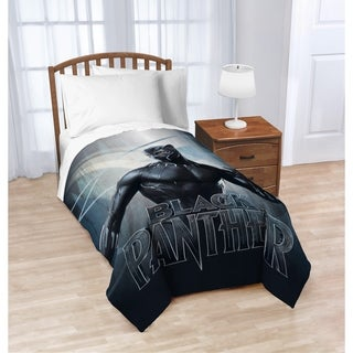 Marvel Black Panther Blue Tribe Twin Blanket