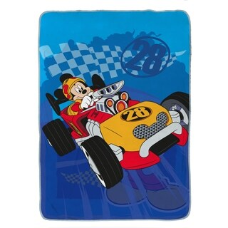 Disney Mickey Mouse Clubhouse Roadster Racer Twin Blanket