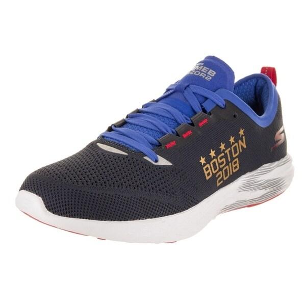 61903caefa52 ... Men s Athletic Shoes. Skechers Men  x27 s GO Meb Razor 2 - Boston  Marathon 2018 Training Shoe