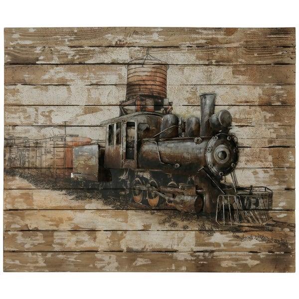 Train Engine Print Wall Art