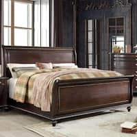 Furniture of America Huntington Traditional Sleigh Bed
