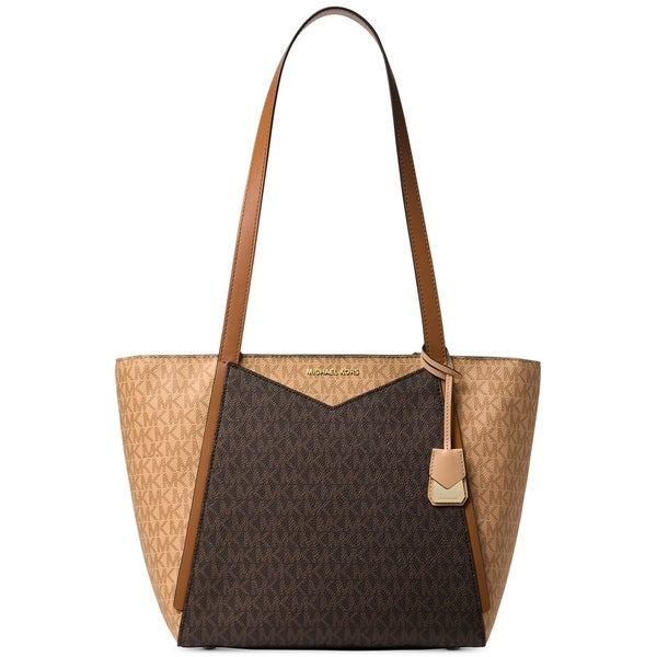 fb0de700e921 MICHAEL Michael Kors Signature Whitney Tote Butternut/Brown/Gold. Click to  Zoom
