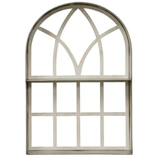 Arched Wood Frame Wall Décor