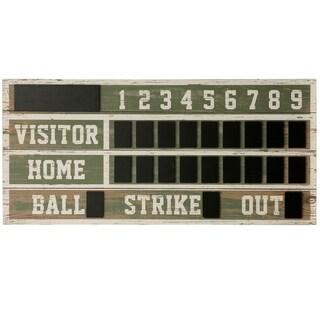 Wooden Scoreboard Wall Décor