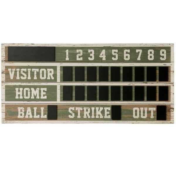 Wooden Scoreboard Wall Décor