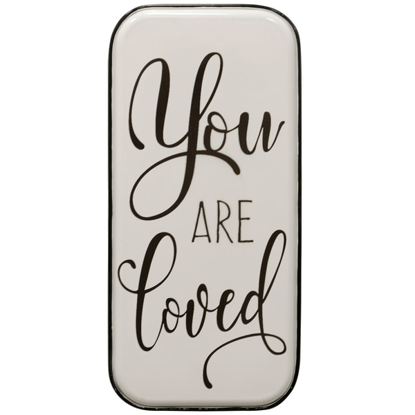 You are Loved Metal Panel Wall Art