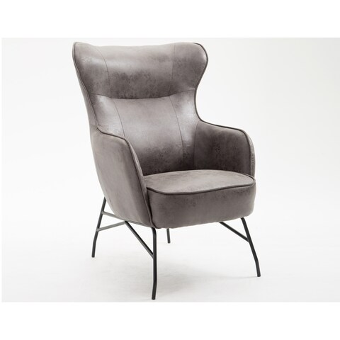 Emerald Home Franky Badlands Charcoal Accent Chair