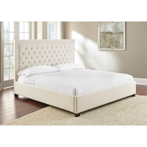 Isabel Button Tufted Bed by Greyson Living