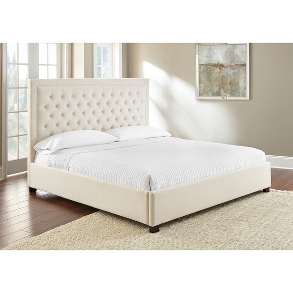 Isabel Button Tufted Bed by Greyson Living. Opens flyout.