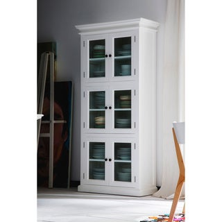 The Gray Barn Lands Deerpark Mahogany 3-level Pantry (White)