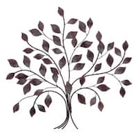 Bronze Tree Branch Decorative Metal Wall Décor
