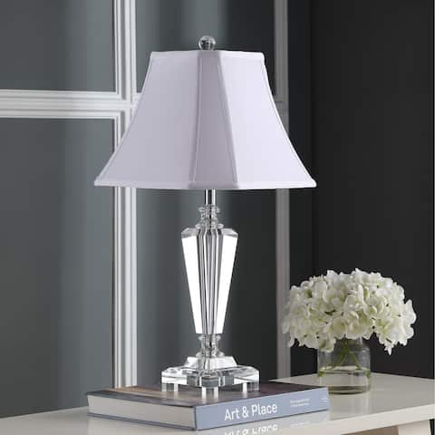 Safavieh Lighting 25-inch Lilly Crystal Table Lamp (Set of 2)