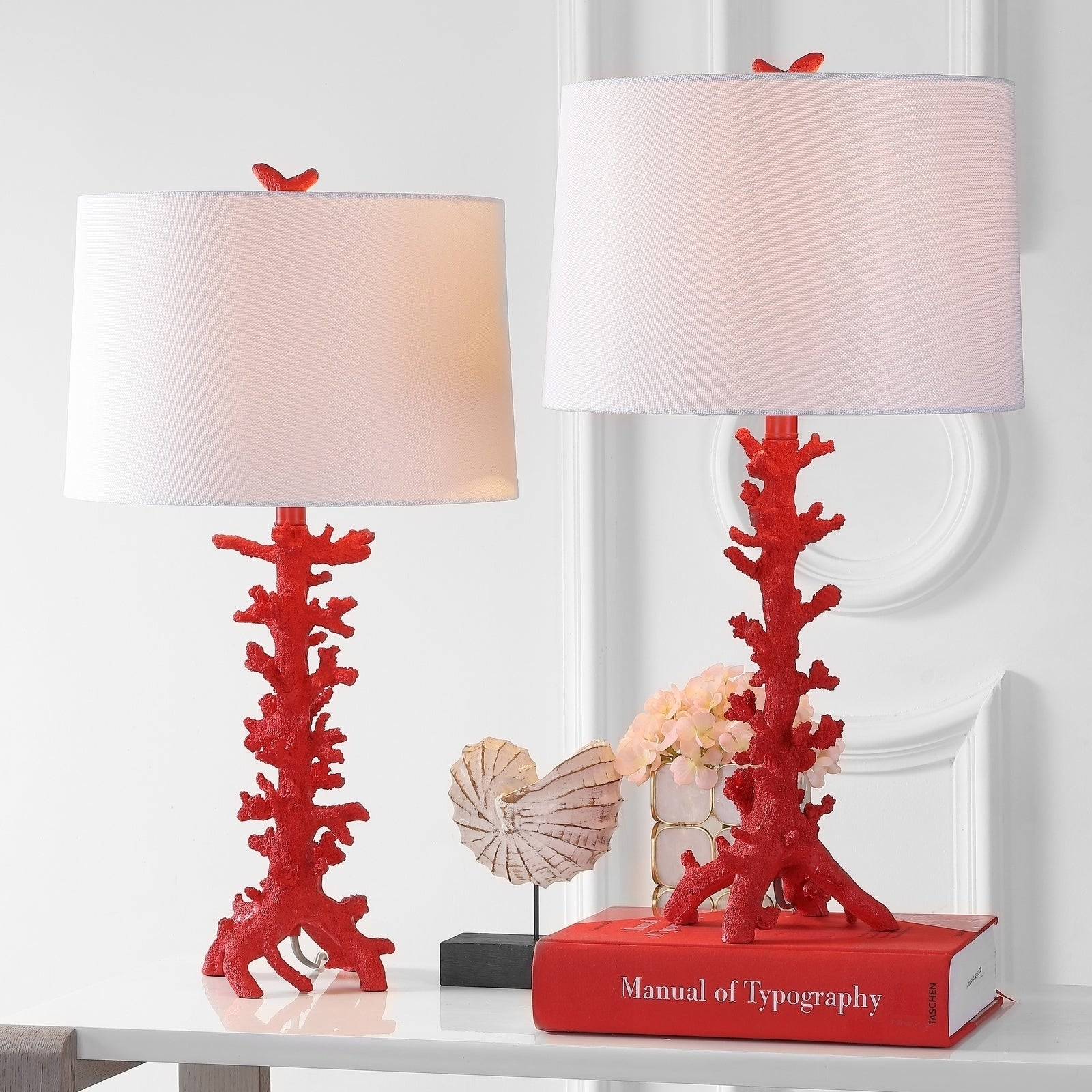 Safavieh Lighting 28 Inch Romilly C Led Table Lamp Set Of 2 15 X