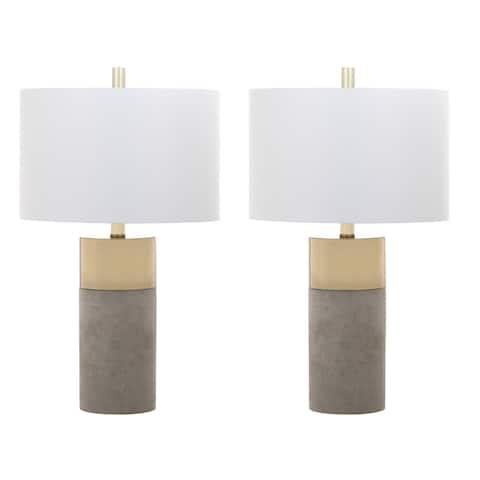 Safavieh Lighting 24-inch Oliver Table Lamp (Set of 2)