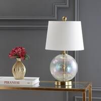 "Safavieh Lighting 20-inch Riglan Table Lamp - Gold - 11"" x 11"" x 20"""