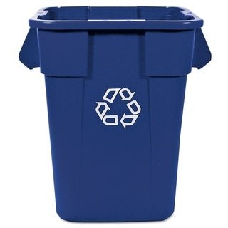 Rubbermaid Commercial Brute Blue Recycling Container, 40 gal