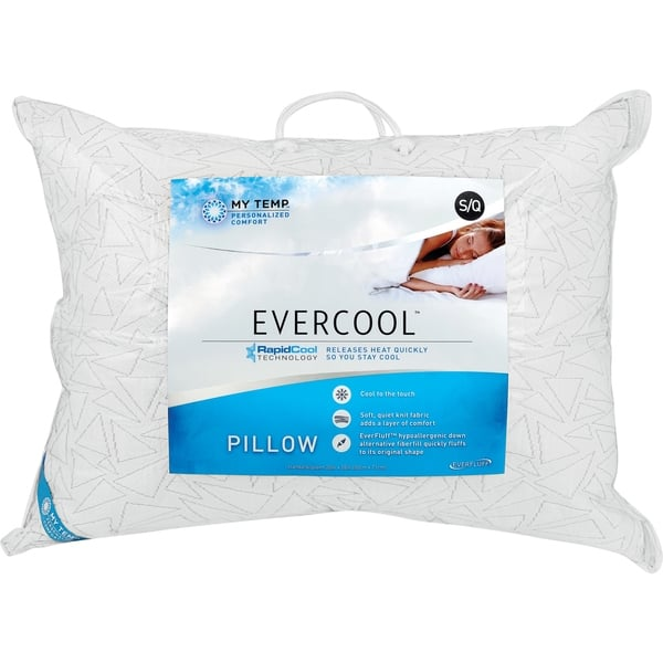Shop Mytemp Evercool Pillow With Rapidcool Technology White