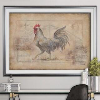 Rustic Fowl II-Premium Framed Print