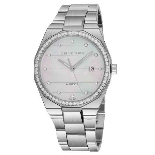 69740d67ab2 ... Women s Watches. Concord Women  x27 s 0320264   x27 Mariner  x27  Mother