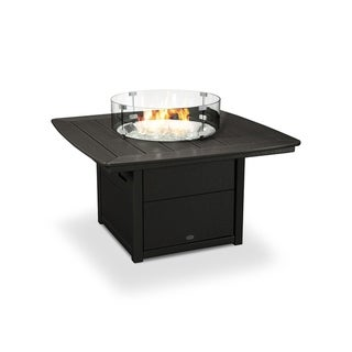 """POLYWOOD® 42"""" Nautical Fire Pit Table"""