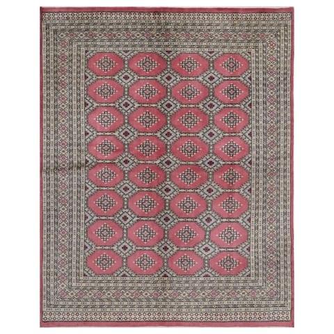 Handmade Bokhara Wool Rug (Pakistan) - 6'6 x 8'3