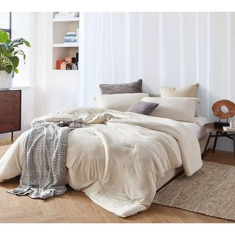 BYB Bare Bottom Comforter - Almond Milk