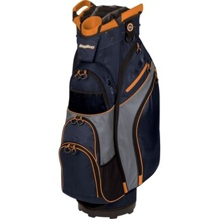 BagBoy Chiller Cart Bag - Navy/Charcoal/Orange