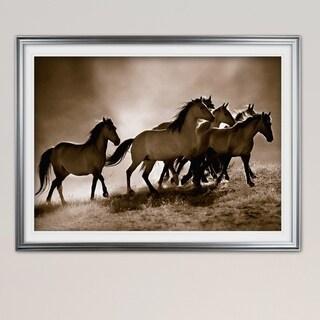 Wild Horses-Premium Framed Print