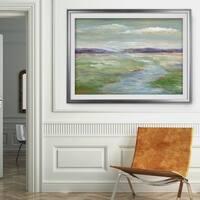 Meadow Stream I-Premium Framed Print