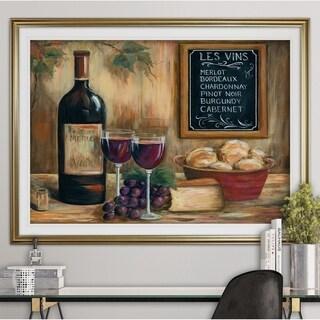 Les Vins-Premium Framed Print