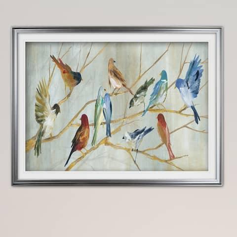 Spring Migration-Premium Framed Print