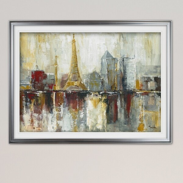 Paris Icons-Premium Framed Print