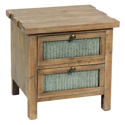 International Caravan Bradbury 2-Drawer Night Stand