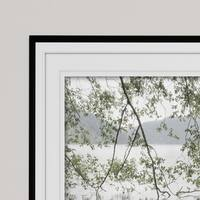 Lake Crescent Rainy Day-Premium Framed Print