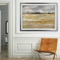 Meadow Shimmer I-Premium Framed Print