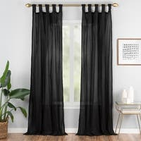 Vue Elements Priya Tab Top Window Curtain