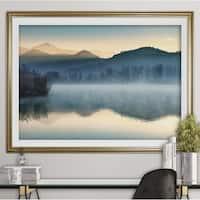 Quiet Morning-Premium Framed Print