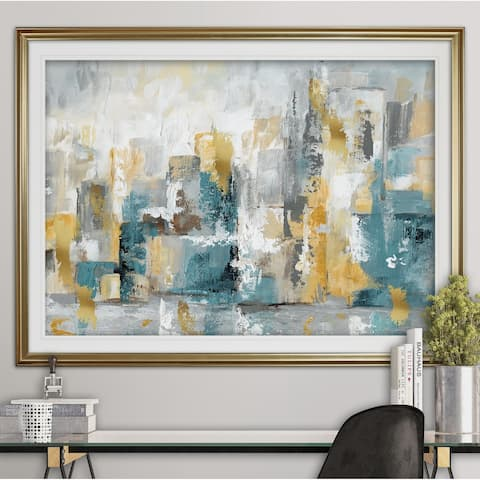 City Views II-Premium Framed Print