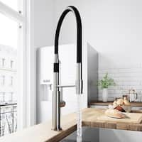 VIGO Norwood Stainless Steel Magnetic Spray Kitchen Faucet