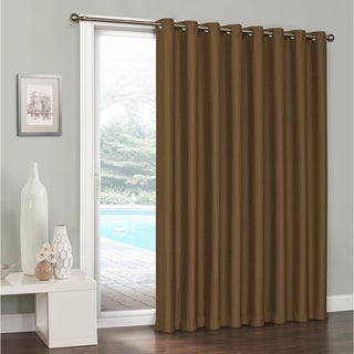 Eclipse Clara Thermaweave Blackout Patio Door Curtain (5 options available)