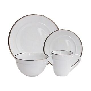 lucienne white 16 pc dinner set