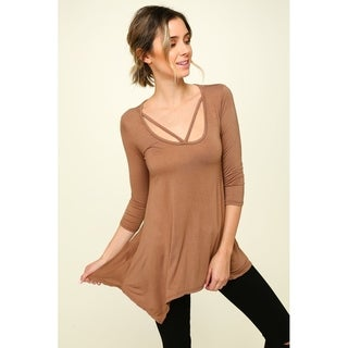 Olivia Pratt Strappy Knit Top (3 options available)