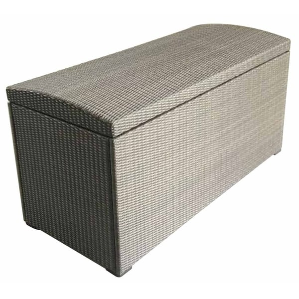 Shop Wicker Outdoor Storage Box Bench Free Shipping Today