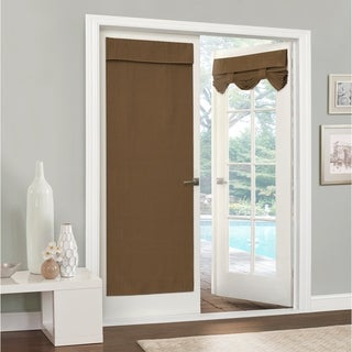 Eclipse Clara Thermaweave Blackout French Door Panel