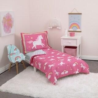 Carter's Unicorns & Rainbows 4-Piece Toddler Bed Set