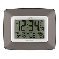 La Crosse Technology WS-8008U-IT Atomic Digital Clock with Temperature