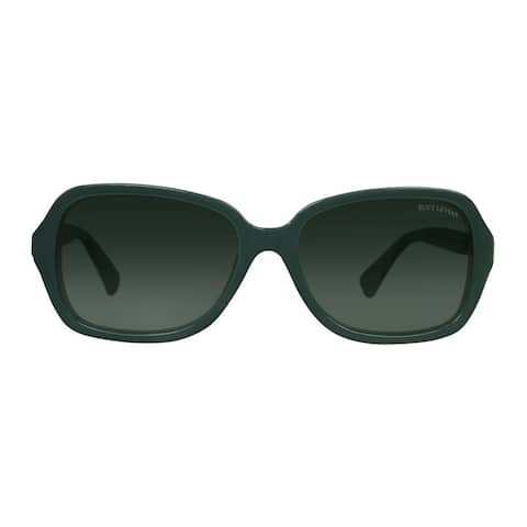 Suzy L. Women's Grey Panther Love Link Polarized Sunglasses