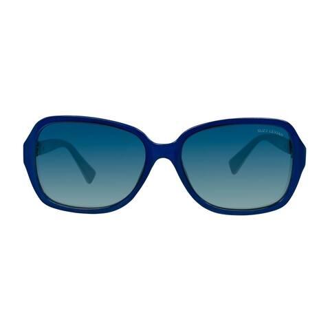 Suzy L. Women's Blue Love Link Polarized Sunglasses