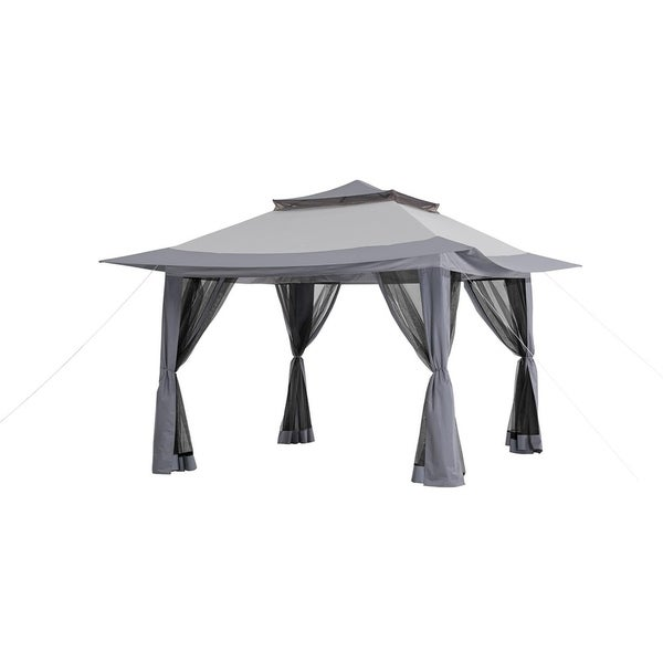 13 Ft X 13 Ft Pop Up Canopy With Carrying Bag