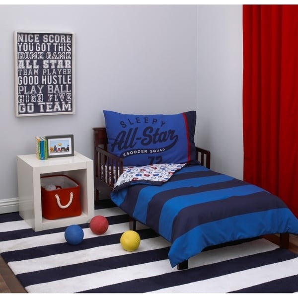 Carter's Boy Sport 4pc Toddler Bed Set
